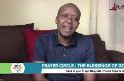 PRAYER CIRCLE-21ST SEPTEMBER 2020 (THE BLESSINGS OF GOD)