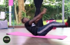 FAMILY FITNESS-17TH JULY 2019 (TABATA CORE WORKOUT)