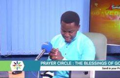 PRAYER CIRCLE-25TH SEPTEMBER 2020 (THE BLESSINGS OF GOD)