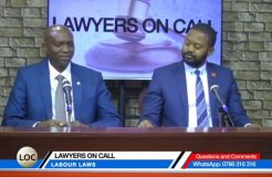 LAWYERS ON CALL-20TH NOVEMBER 2018 (LABOUR LAWS)