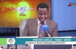 PRAYER CIRCLE-1ST SEPTEMBER 2020 (PRAYING FOR OUR PARENTS)