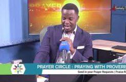 PRAYER CIRCLE - 13TH JANUARY 2021(PRAYING WITH PROVERBS)