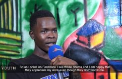 YOUTH ON THE MOVE GRAFFITI ARTIST 28TH MAY 2018