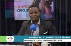 Prayer Circle - 29/9/2021 (Hosting God