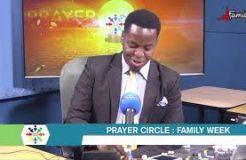 PRAYER CIRCLE-31ST AUGUST 2020 (PRAYING FOR FAMILIES)