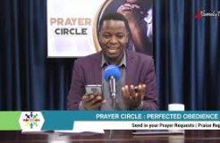 Prayer Circle - 27/9/2021 (Perfect Obedience)