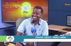 PRAYER CIRCLE - 5TH APRIL 2021 (FAMILY WEEK)