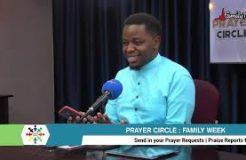 Prayer Circle -  4/10/2021 (Family Week)