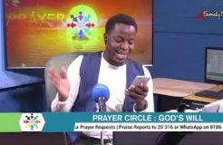 PRAYER CIRCLE - 23RD FEBRUARY 2021 (GOD