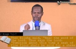 TREASURES OF DESTINY-11TH JULY 2020 (BREAKING YOUR LIMITATIONS)