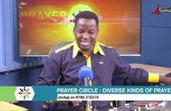 PRAYER CIRCLE - 13TH NOVEMBER 2020 (PRAYER OF THANKSGIVING)