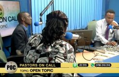PASTORS ON CALL 14TH SEPT. 2017