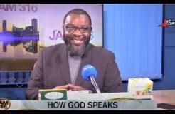 JAM 316 DEVOTION - 16TH NOVEMBER 2020 (HOW GOD SPEAKS)