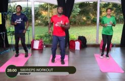 FAMILY FITNESS-12TH AUGUST 2019 (500 REPS WORKOUT)