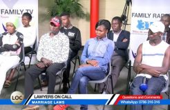 LAWYERS ON CALL-4TH DECEMBER 2018 (MARRIAGE LAWS)