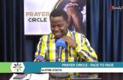 Prayer Circle - 24/9/2021 (Face To Face)
