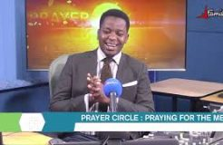 PRAYER CIRCLE-3RD SEPTEMBER 2020 (PRAYING FOR THE MEN)