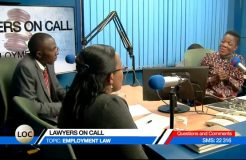LAWYERS ON CALL 16TH SEPT 2017