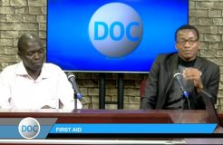 DOCTORS ON CALL-3RD JUNE 2018 (FIRST AID)