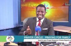 PRAYER CIRCLE - 2ND NOVEMBER 2020 (PRAYING FOR FAMILIES)