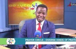 PRAYER CIRCLE - 12TH NOVEMBER 2020 (DIVERSE KINDS OF PRAYERS)