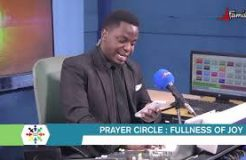 PRAYER CIRCLE-9TH SEPTEMBER 2020 (FULLNESS OF JOY)
