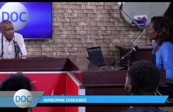 DOCTORS ON CALL-10TH MARCH 2019 (AIRBORNE DISEASES)