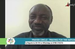 Prayer Circle -20/10/2021 (Praying For The Nation)