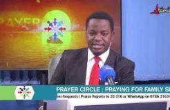 PRAYER CIRCLE - 5TH NOVEMBER 2020 (PRAYING FOR THE MEN)