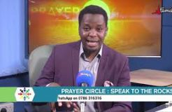 PRAYER CIRCLE-26TH AUGUST 2020 (SPEAK TO THE ROCKS)
