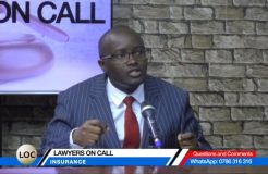 LAWYERS ON CALL-11TH NOVEMBER 2018 (INSURANCE)
