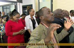 FAMILY MEDIA PRAYER MEETING