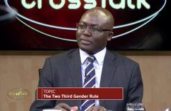 Two third gender rule on Cross Talk