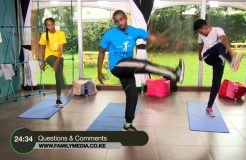 FAMILY FITNESS-9TH JUNE 2018 (CORE WORK OUT)