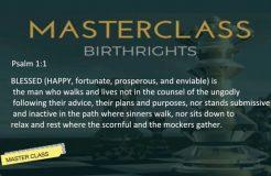 MASTER CLASS EPISODE 2 13TH FEB 2018